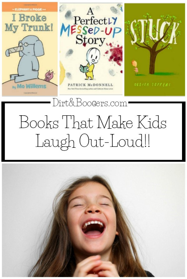 I love funny children's books that make kids roar with laughter!