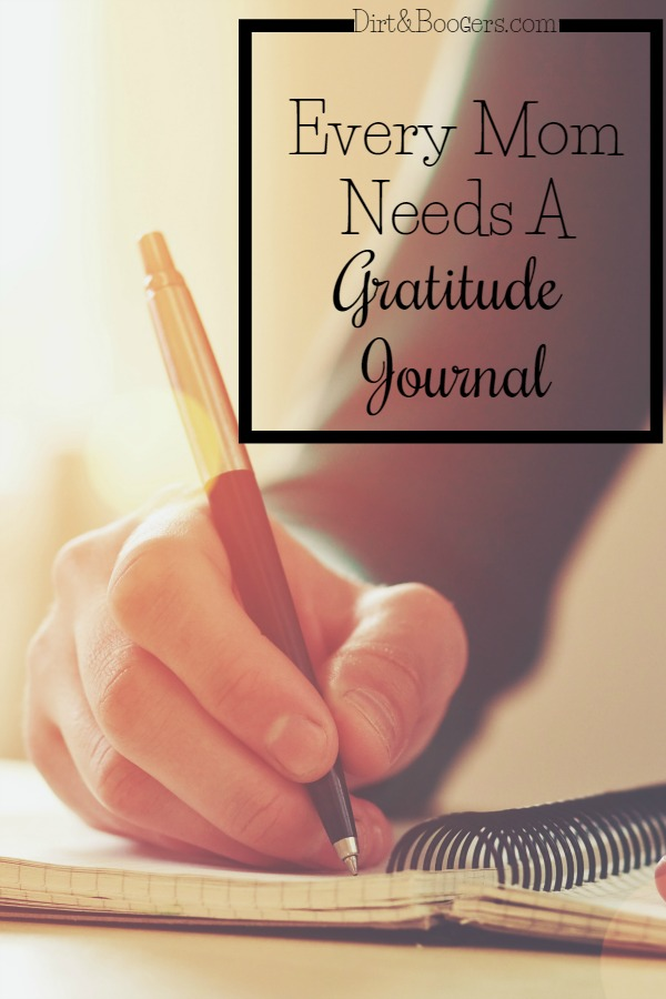 Why Moms Need A Gratitude Journal with free journal included!