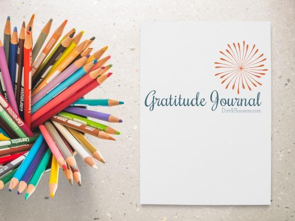 Gratitude Journal with Pencils