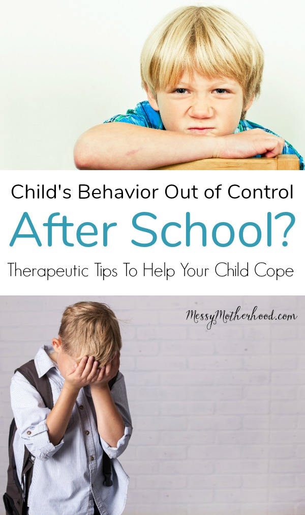 Children fall apart after school and might throw tantrums, become overly emotional, or even pull parents into power struggles. Here's why your child is doing this and how to make it better.