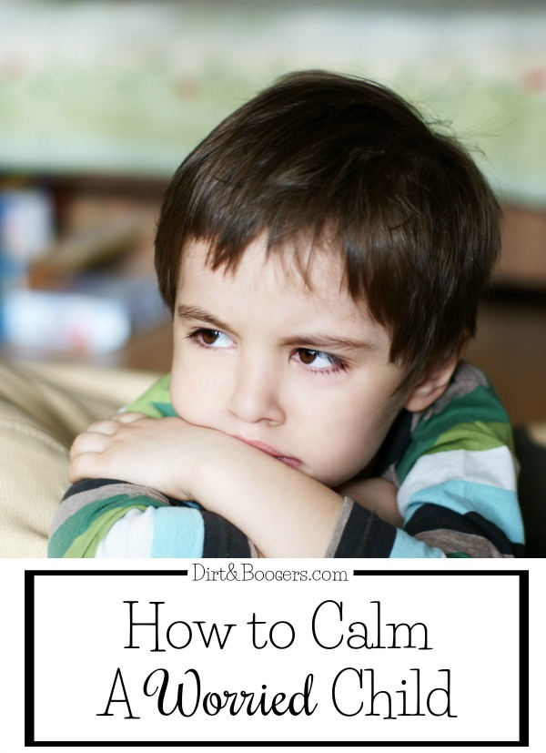 How to Calm a Worried Child
