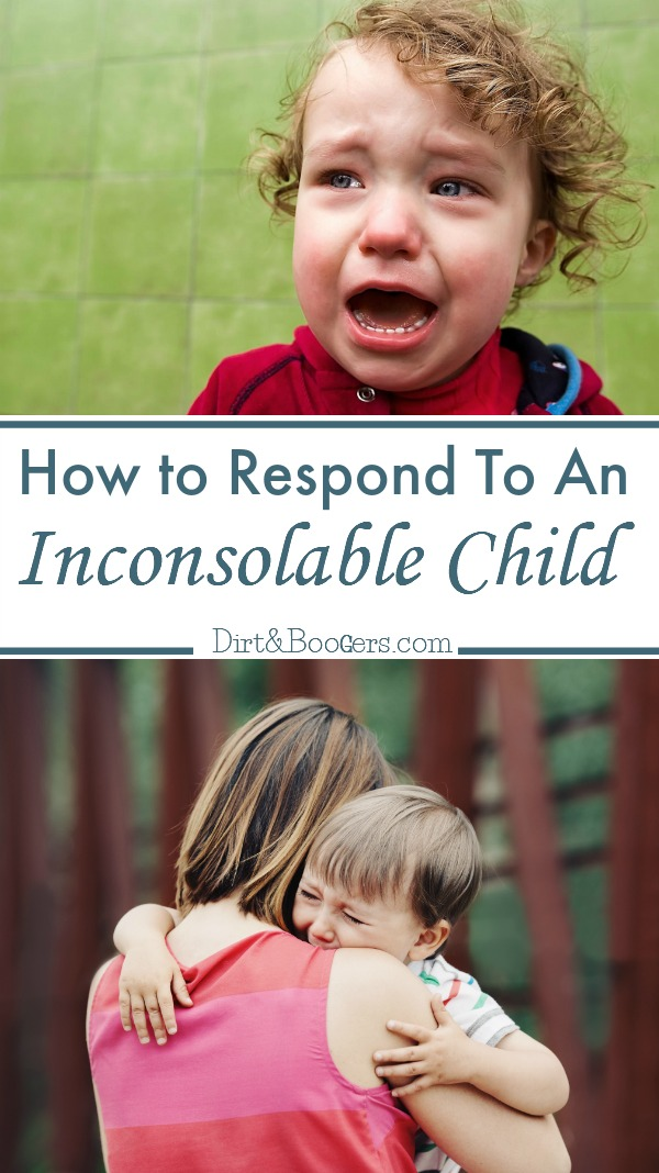 A great parenting tip for how to calm down a crying child