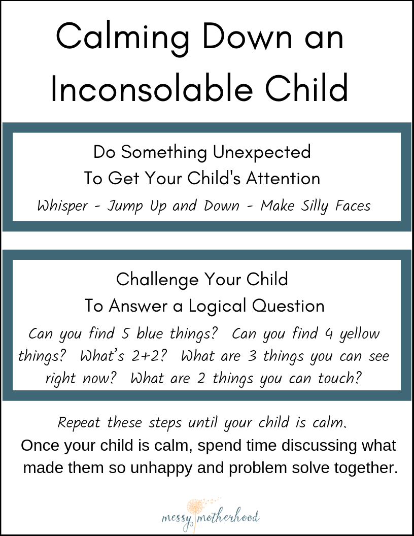 Five Things To Do When Your Child Wails >> The Most Powerful Response When Your Child Is Inconsolable