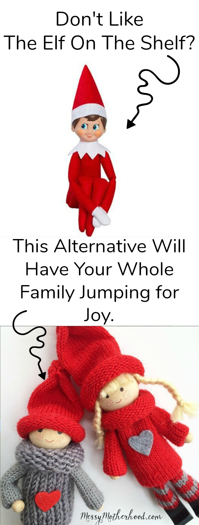 Perfect for those of us who don't like The Elf On The Shelf. The Kindness Elves are wonderful!