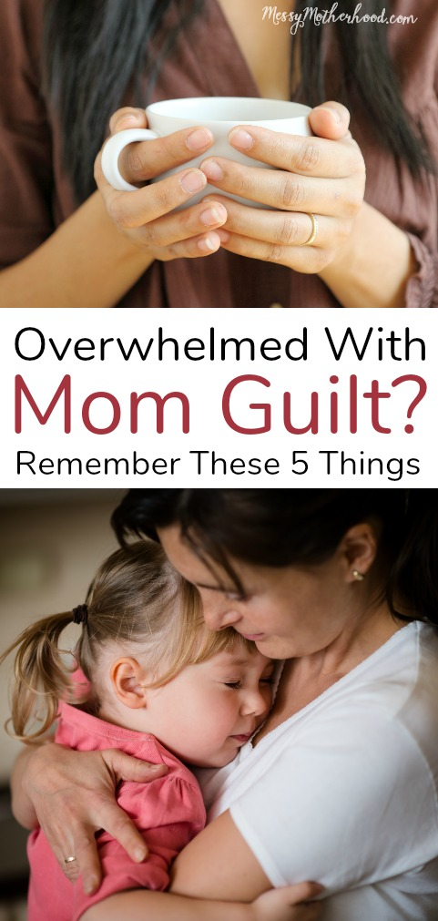 Mom Guilt can take over so quickly. Here's 5 myths about Mom Guilt that every Mom needs to know.