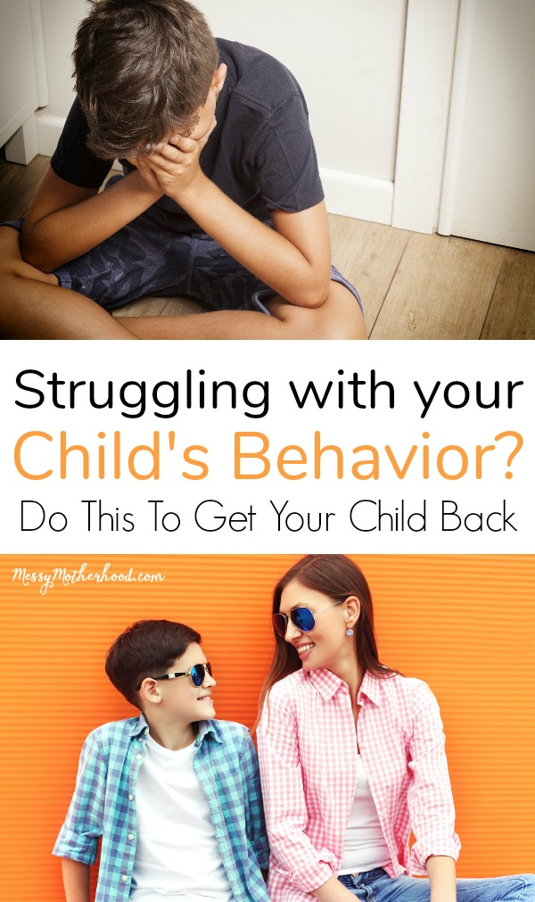 Struggling with you child's behavior? Try this