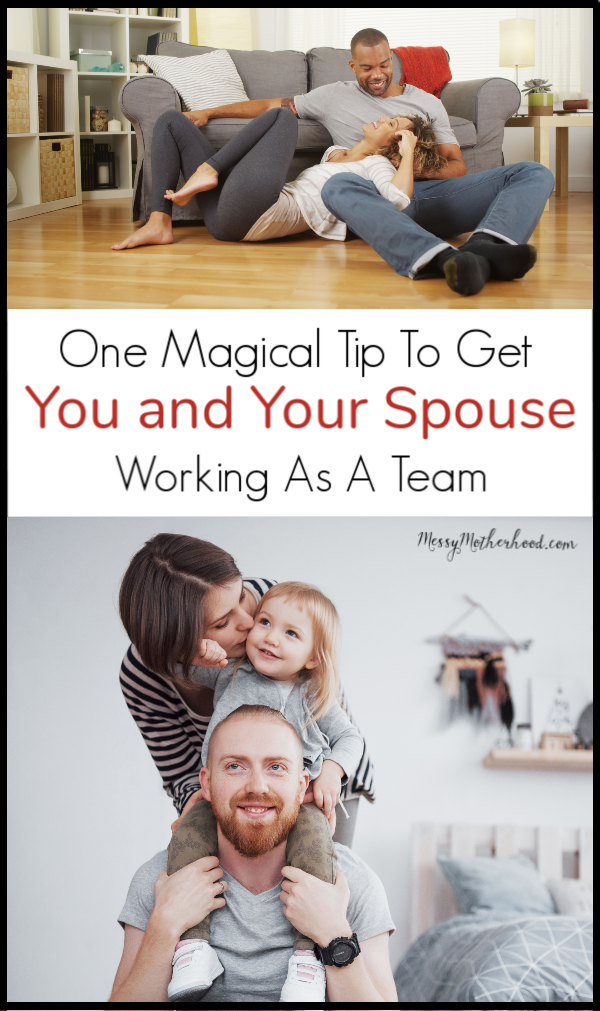 Parenting with Your Spouse, how to get on the same page