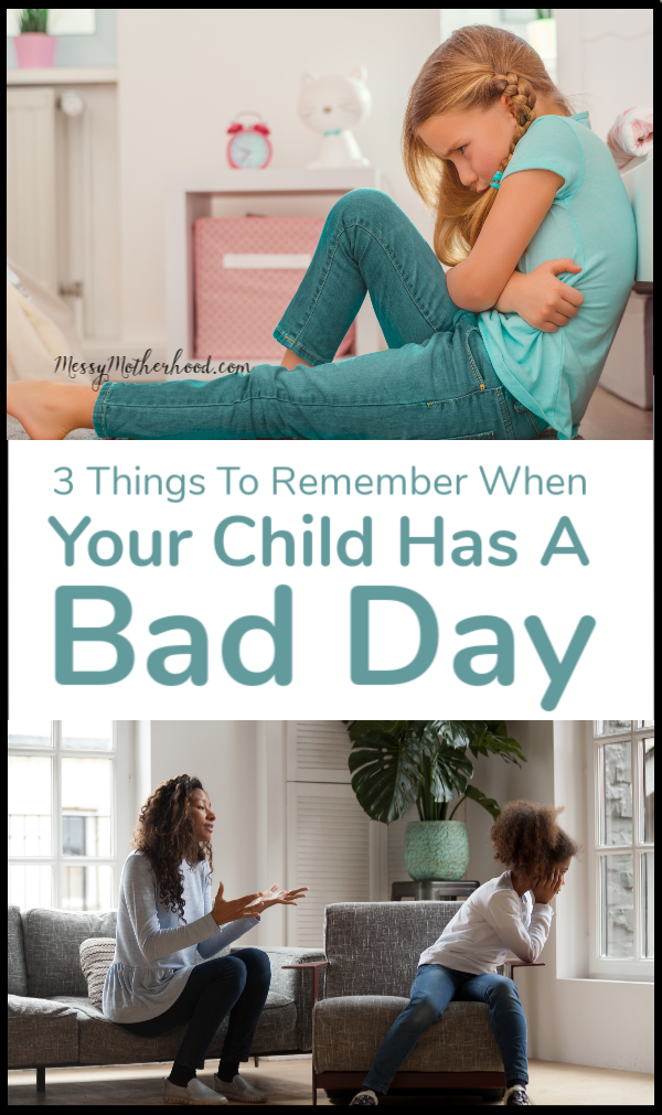Broken rules and bad days happen to every child. Here are 3 things every parent needs to remember.