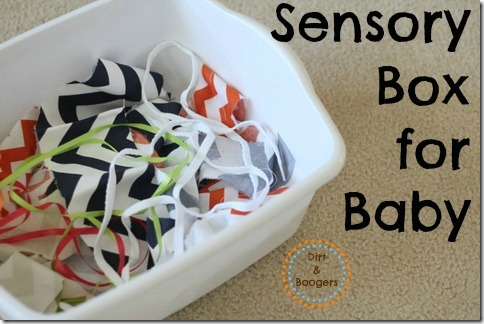 Sensory Box for Baby